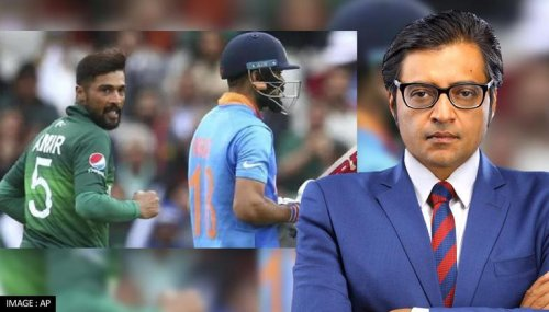 Watch Arnab Goswami's take on India vs Pakistan match: 'Never lose your national interest'