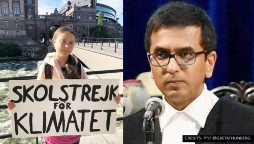 'No one is too young to effectuate change': Justice DY Chandrachud hails Greta Thunberg