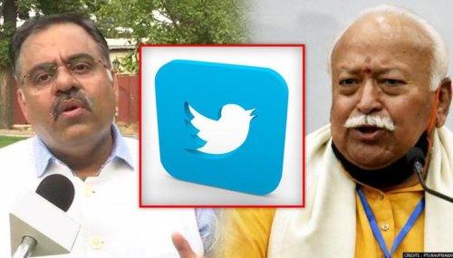 Blue tick can't undo Saffron contribution: BJP backs RSS as Twitter unverifies Bhagwat