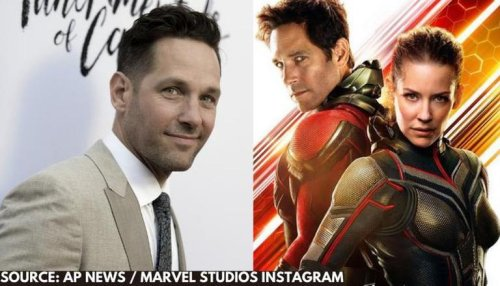 Paul Rudd reveals 'Ant-Man and the Wasp: Quantumania' has started shooting