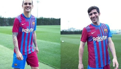 Barcelona unveil new home kit for 2021-22 season, here's what the fans think about it