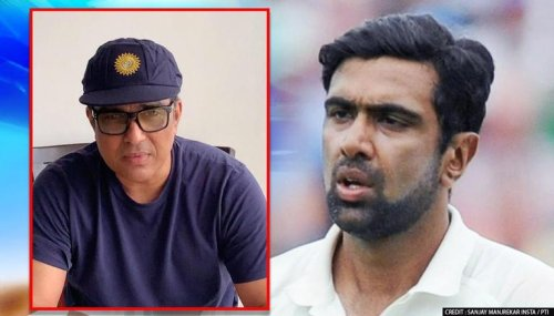 Sanjay Manjrekar faces the wrath of the netizens for mocking Ashwin's hilarious meme