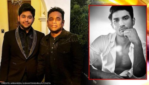 AR Rahman, his son pay musical tribute to Sushant on his death anniversary | Watch
