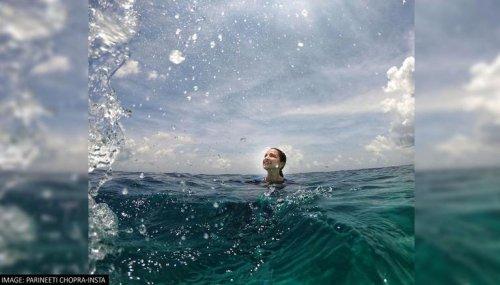 Parineeti Chopra shares photos of scuba diving session in Maldives; terms it 'Meditation'