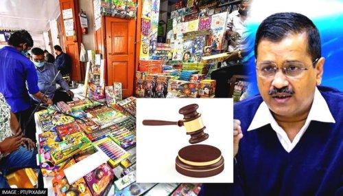 Plea in Delhi HC seeking rollback of AAP govt's decision to ban firecrackers during Diwali