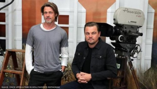 DYK Brad Pitt and Leonardo DiCaprio were both mistaken for a Hollywood A-list actor