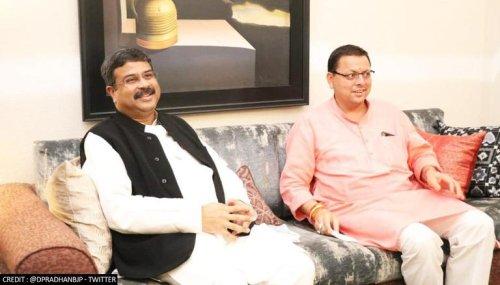 Dharmendra Pradhan promises 'double-engine govt' in Uttarakhand as Rajkumar re-joins BJP