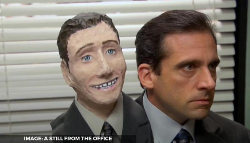 'The Office' actors Steve Carell & Rainn Wilson found THIS iconic scene tough to shoot