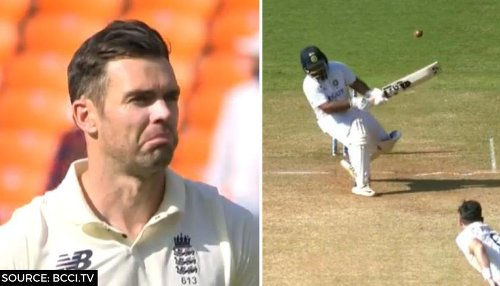 James Anderson becomes centre of intense banter between English and Indian fans online