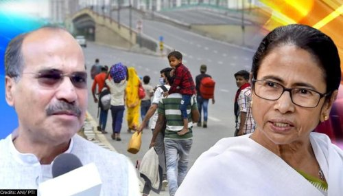 Adhir Chowdhury urges CM Mamata to form 'new department' for welfare of Bengali migrants