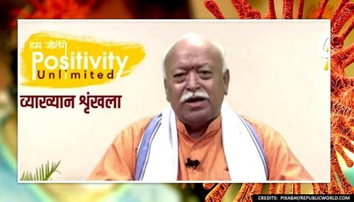 RSS chief Mohan Bhagwat blames negligence after 1st COVID wave for explosive rise in cases