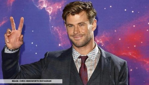 Chris Hemsworth shows how he 'hasn't aged a day' as he celebrates '10 Years Of Thor'; view