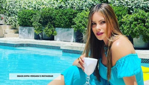 Sofia Vergara shares a throwback video from her 90s photoshoot in Colombia; watch