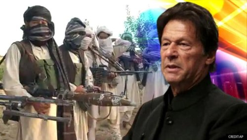 'They are normal civilians', says Imran Khan as Pakistan continues to aid Taliban