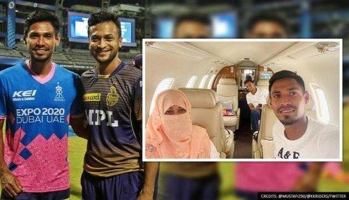 Bangladesh's Shakib Al Hasan, Mustafizur Rahman land in Dhaka after IPL 2021 suspension