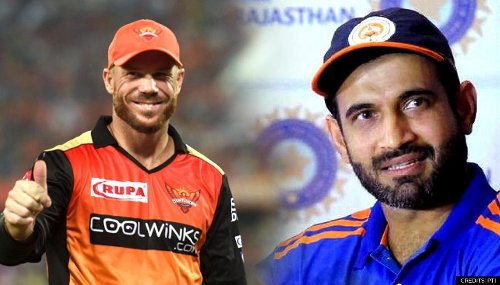 Irfan Pathan's big advice for Warner & Co to overcome death over debacle ahead of MI clash
