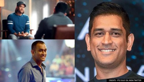 MS Dhoni's new look in retro Indian Team journey sends Twitter into frenzy; see pictures