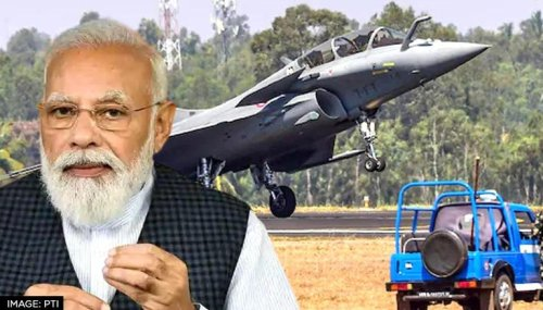 PM Modi unveils 7 defence firms, avers 'India taking new resolutions to build new future'