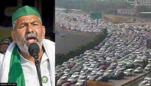 Rakesh Tikait apologises for traffic jam due to 'Bharat bandh'; reminds farmers' struggles