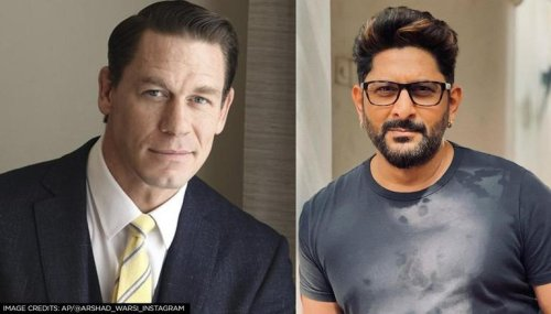 John Cena shares picture of Arshad Warsi's transformation; Fans speculate reasons