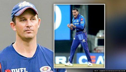 'How Rahul Chahar's role changes on Chennai's pitch?': MI coach Shane Bond responds