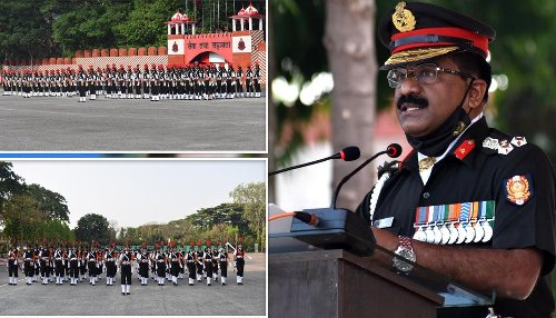 IN PICS: First batch of Indian women police inducted into Army