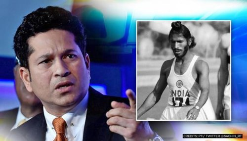 Sachin Tendulkar offers last respects to 'Flying Sikh' Milkha Singh with special message