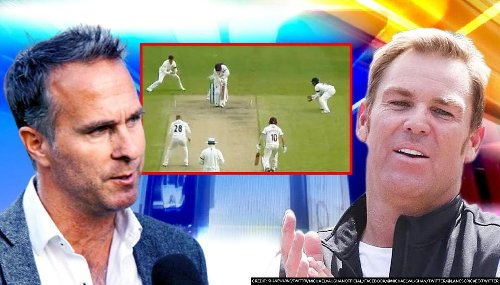 Michael Vaughan requests Shane Warne to review Matt Parkinson's 'ball of the century'