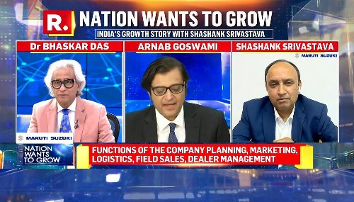 Nation Wants to Grow: Maruti Suzuki is setting the trajectory for India's growth story