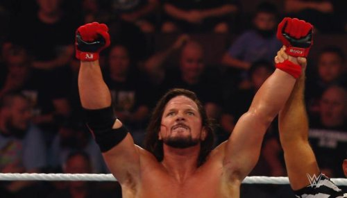 'Burning Hammer in WWE?': Fans term AJ Styles vs Riddle as 'one of the best matches on TV'