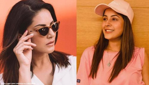 Sunny Leone sends gift to Shehnaaz Gill, here's how latter reacted to 'wonderful' present