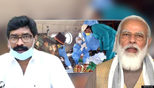 Jharkhand CM urges PM Modi to permit availing service of paramedics deployed in state