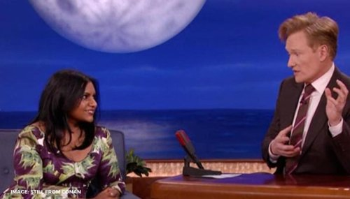 Mindy Kaling pens heartfelt note for Conan O'Brien as he ends his late night show on TBS
