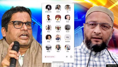 Owaisi slams Prashant Kishor over Mamata's appeasement politics amid Clubhouse chat row