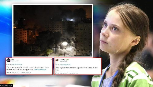 'Sounds stupid': Greta Thunberg slammed for 'neutral' stance on Israel-Palestine conflict