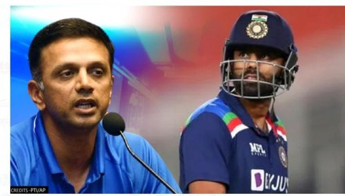Rahul Dravid gutted as Suryakumar Yadav needlessly gifts his wicket during 1st T20I