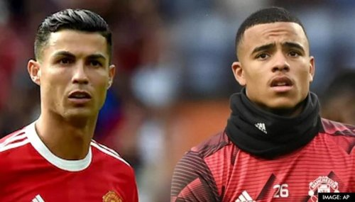 Cristiano Ronaldo 'irritated' with Mason Greenwood after Man Utd's Liverpool defeat