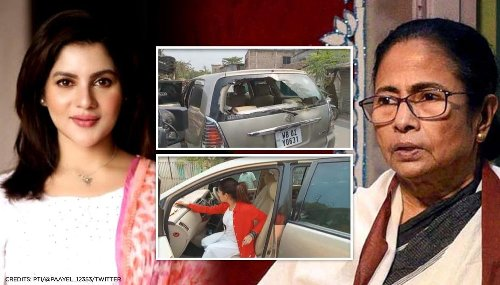 BJP's Payel Sarkar's convoy attacked in Bengal upon visit to polling booth, escapes unhurt