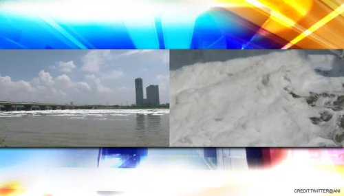 'Toxic' foam floats on surface of Yamuna River in Delhi's Kalindi Kunj; check video