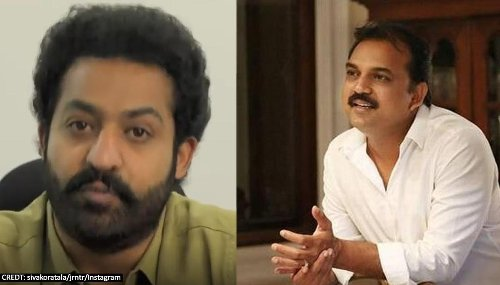 Jr NTR teams up with director Koratala Siva for second time for 'NTR 30'