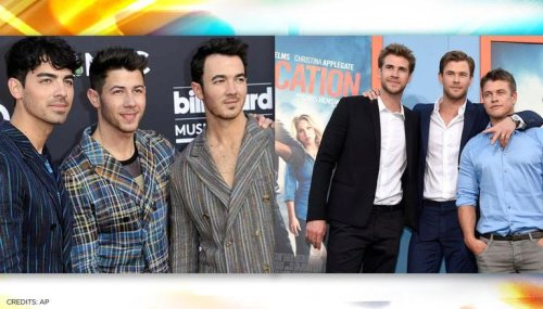 Did Jonas Brothers challenge the Hemsworth brothers for a UFC boxing match? Watch video