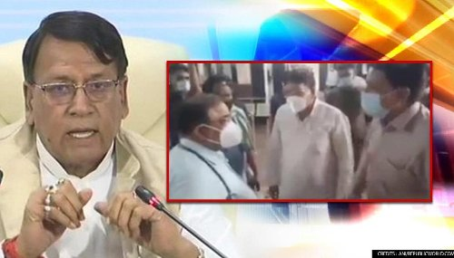 MP Police books Congress MLA Sharma for misbehaving with senior doctor who later resigned