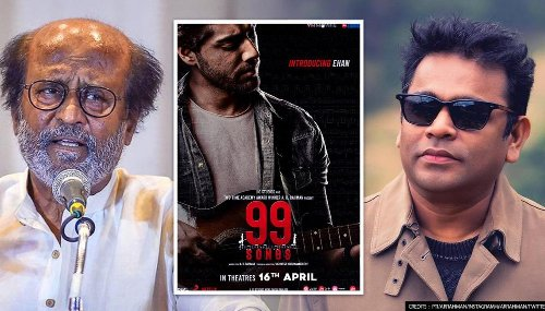 Rajinikanth sends best wishes to AR Rahman for '99 songs', says 'wishing you the best'