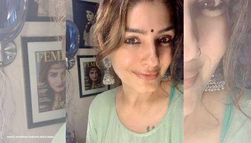 Raveena Tandon shares pictures of the damages done by cyclone Tauktae in her compound