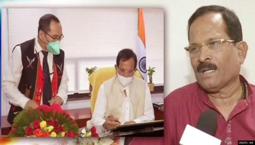 Shripad Naik takes charge as Minister of State for Tourism after Cabinet reshuffle