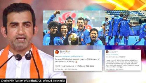 Olympic Hockey medal bigger than India's Cricket World Cups? Gautam Gambhir sparks debate