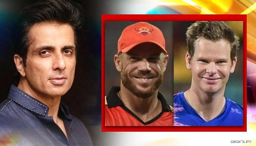 Sonu Sood gets asked to help stranded Australian IPL players get back home; has epic reply