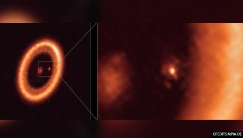 Astronomers detect first proof of far-off Exoplanet with 'moon-like ring' surrounding it