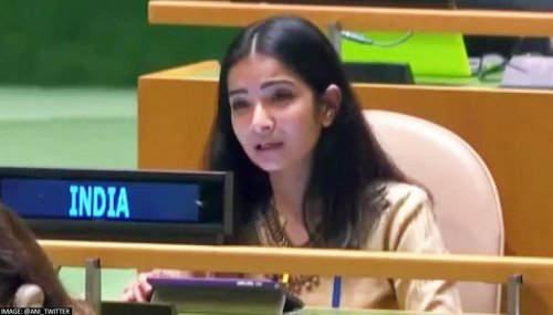 Sneha Dubey: Read about young IFS officer who gave a befitting reply to Imran Khan at UNGA