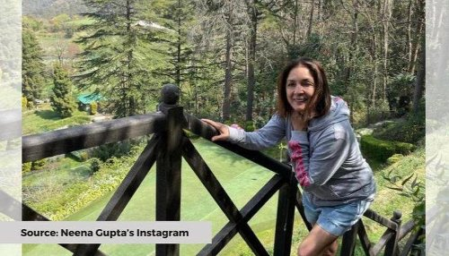Neena Gupta gets the second shot of the COVID-19 vaccine, shares video on Instagram